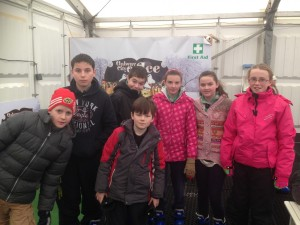 Athenry Scouts Ice Skating