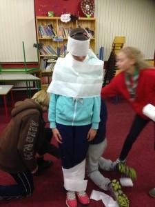 Meerkat Mummy WIP