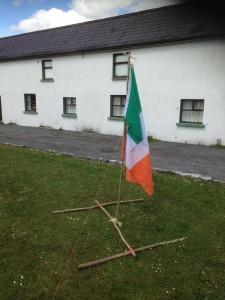 Pioneering Flag Pole