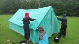 Tent before Restoration