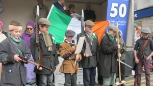 Reading the Proclamation of Independence