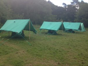 Tents Ready